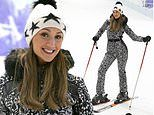 Catherine Tyldesley swaps Strictly dancefloor for the slopes as she learns how to ski in six hours