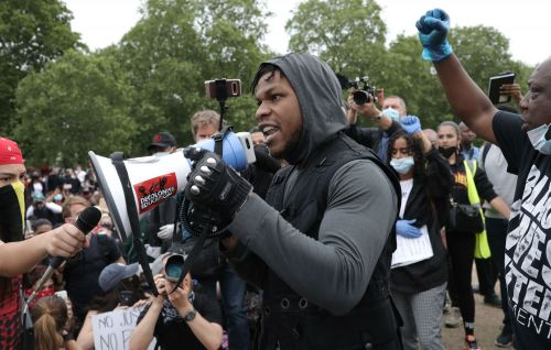 Watch John Boyega address Black Lives Matter protest in London's Hyde Park