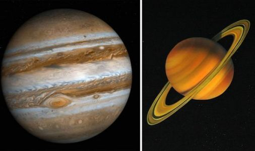 Saturn and Jupiter in conjunction - NASA satellite images show where gas giants are now