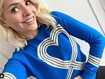 Holly Willoughby does her bit for the NHS by wearing a £295 charity sweater