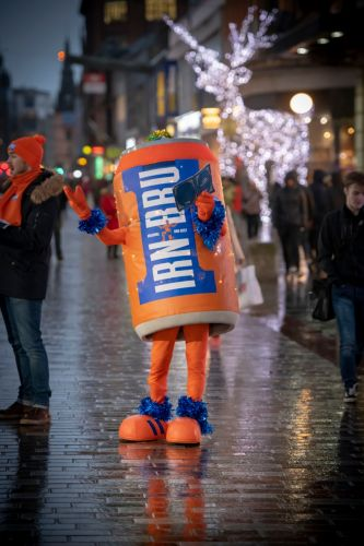 Irn-Bru Carol Crew to go on tour serenading shoppers this weekend