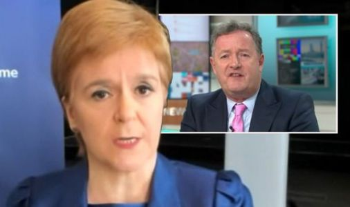 GMB viewers slam Piers Morgan for ranting in Nicola Sturgeon interview: 'Let her talk'