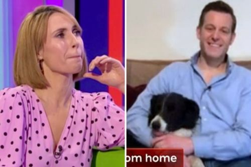 The One Show's Alex Jones breaks down in tears as she says goodbye to Matt Baker