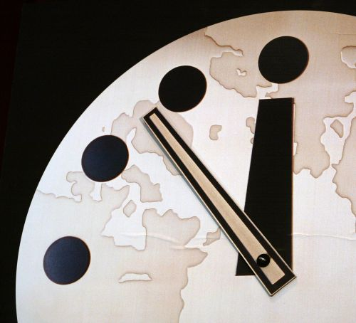 Doomsday Clock 'could move closer to midnight' tomorrow as nuclear tensions rise