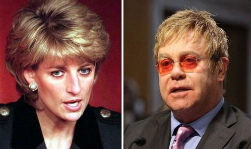 Royal fury: Princess Diana's 'row' with Elton John revealed amid Meghan and Harry backlash