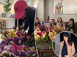 Meghan's baby shower: Her flower display is revealed