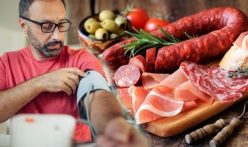 High blood pressure: Processed meat and canned foods should be avoided to reduce risk
