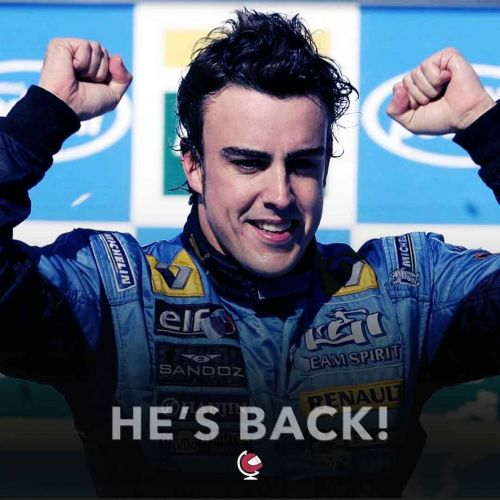Renault officially announce Alonso return