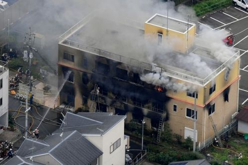 23 Feared Dead After Arson At Japanese Kyoto Animation Studio