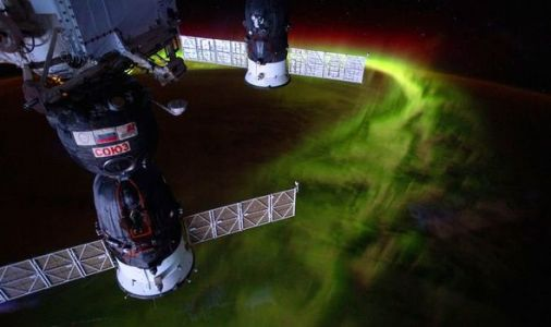 Northern Lights pics: Jaw-dropping images of aurora borealis taken by spacewoman Christina