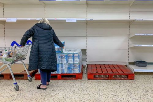 Tesco puts one-item limit on essentials to stop stockpilers