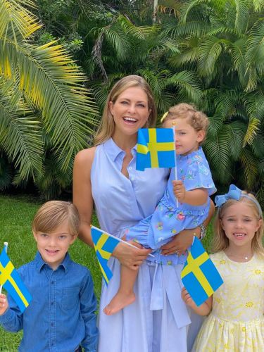 Princess Madeleine sends National Day wishes from Florida