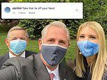 Trump supporters slam Ivanka as 'silly' and 'stupid' for wearing a face mask for a photo op