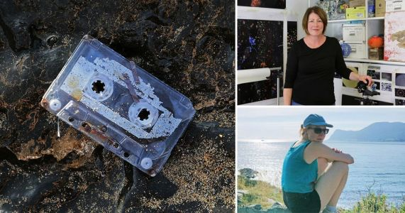 Woman who lost mixtape on holiday finds it 26 years later at art exhibition