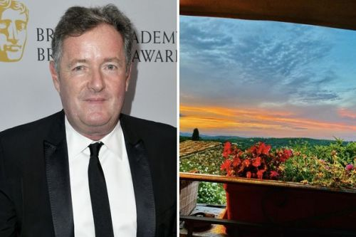 Piers Morgan labelled 'hypocrite' as he shares stunning view from French getaway