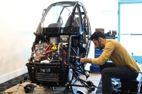 This EV company is using AI and 3D printing to add lightness