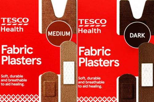 Tesco becomes first UK supermarket to launch diverse range of skin tone plasters