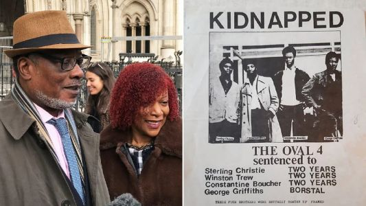 'Oval Four' men jailed in 1972 cleared by court of appeal in London