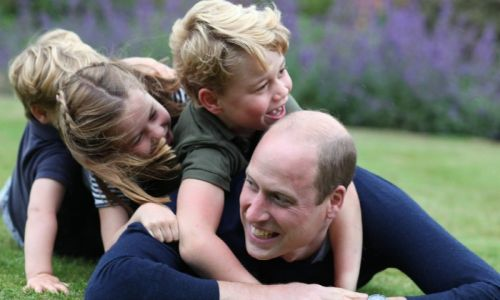 Prince William and Prince George have exciting news to celebrate