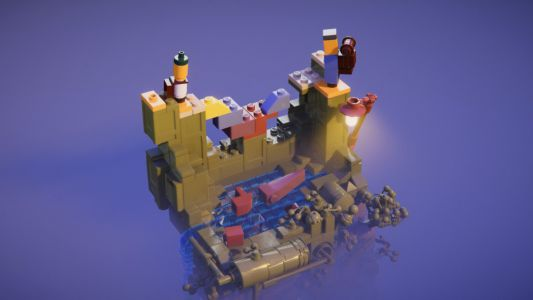 Lego Builder's Journey PC review - puzzling photorealism