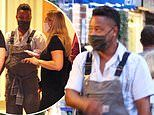 Cuba Gooding Jr. and girlfriend fetch dinner in The Hamptons just HOURS after he appeared in court