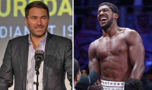 Anthony Joshua had seven-word message to Eddie Hearn about blockbuster Tyson Fury fight