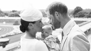 Prince Harry just shared a never before seen photo of himself and baby Archie