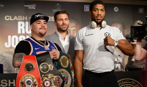 Joshua fight time tonight: What time is Anthony Joshua vs Andy Ruiz Jr tonight?