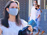 Angelina Jolie spotted for the first time in months amid outing with daughter Vivienne, 11