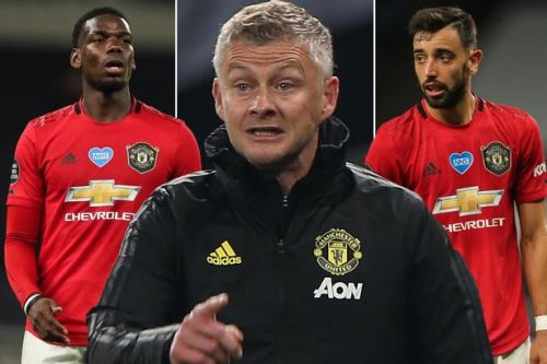 Paul Pogba and Bruno Fernandes both injured after training ground clash