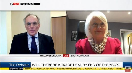 Tory MP Peter Bone Got Absolutely Monstered While Trying To Defend A No-Deal Brexit On Sky News