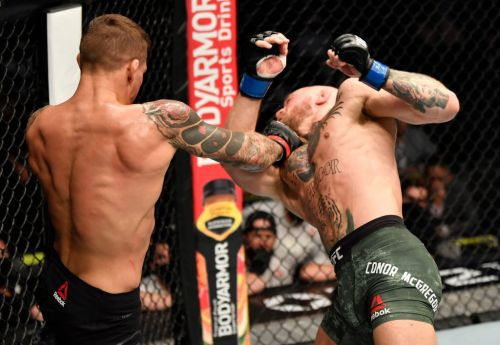 Conor McGregor suffers shock knockout defeat to Dustin Poirier on UFC return