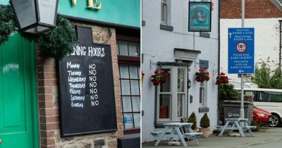 Welsh drinkers told not to travel to England as pubs reopen