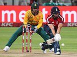 Malan posts astonishing knock of 99 to smash England to T20 series win over South Africa