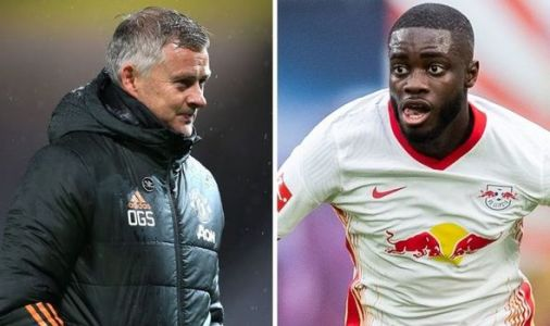 Man Utd boss Solskjaer urged to sign Dayot Upamecano as two legends compared by Scholes