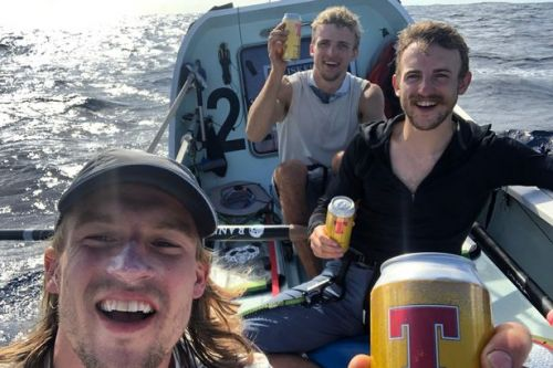 Scots brothers set world record after rowing across the Atlantic Ocean