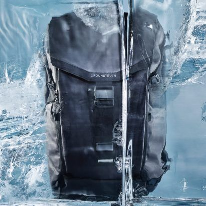 RIKR is a recycled plastic backpack that can withstand Arctic conditions