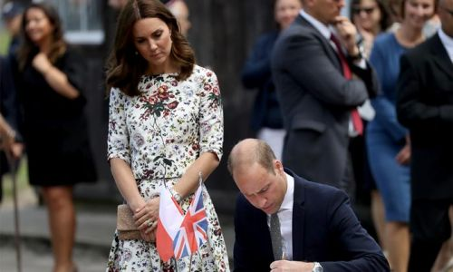 Prince William and Kate Middleton share poignant photos to mark Holocaust Memorial Day