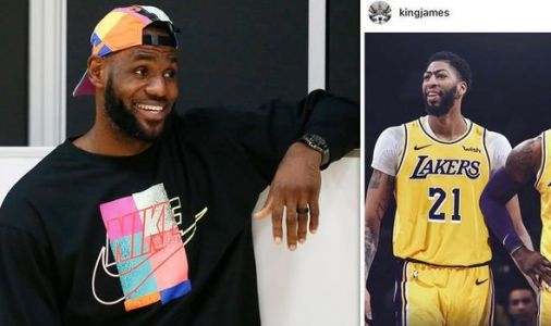 LeBron James hints at more Lakers trade deals after welcoming Anthony Davis on Instagram