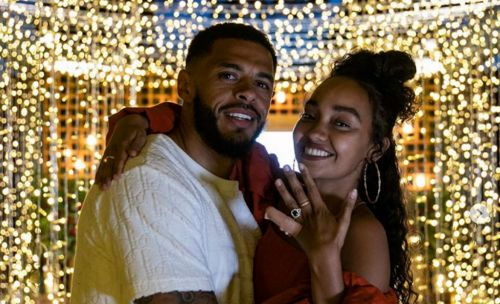 Little Mix's Leigh-Anne Pinnock engaged to Andre Gray on four year anniversary