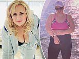 Rebel Wilson vows to slim down to 75kg as she flaunts her weight loss