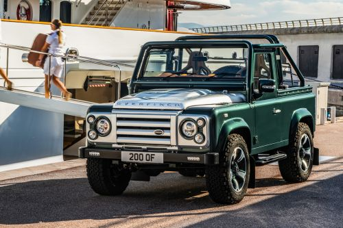 Overfinch creates a 450bhp soft-top Land Rover Defender 90 for £240k