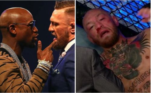 Floyd Mayweather slams con artist Conor McGregor after Dustin Poirier defeat