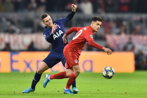Jose Mourinho singles out Juan Foyth he 'learned a lot about' in Tottenham loss to Bayern Munich