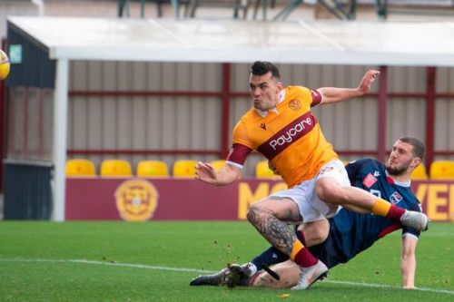 Motherwell ace Tony Watt donates top to food bank charity after Ross County win