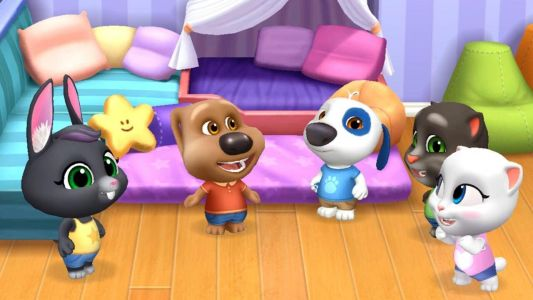 Outfit7 announces virtual pet game with Talking Tom and Friends