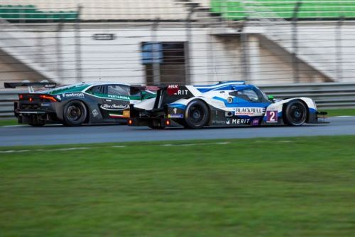 Colin Noble's storming effort in the Asian Le Mans Series