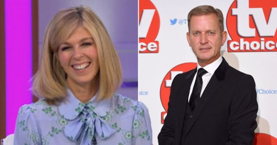 Kate Garraway thanks Jeremy Kyle for helping her get kids safely to their grandparents