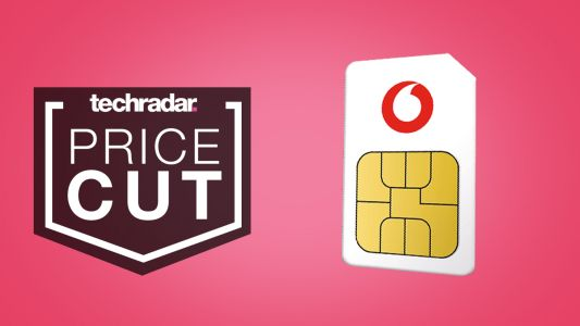 SIM only deals: Vodafone's 100GB SIM only tariff is now effectively £11 a month