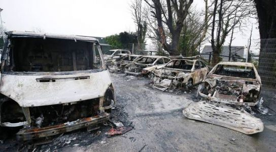 Armagh car sales business vows to carry on after 15 vehicles destroyed in arson attack